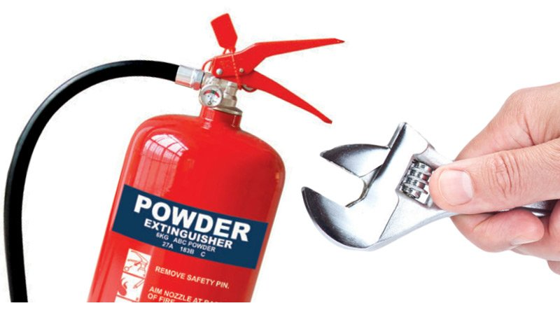 Fire Extinguisher Certification Services Toledo